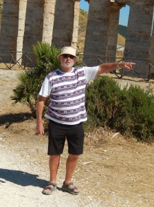 Bill the tour guide - Segesta