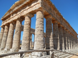 Unfinished temple at Segesta