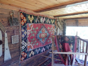 Example of needlework, Slobomir Folk Park