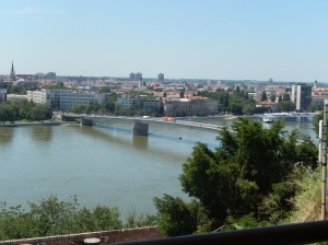 View of Novi Sad from Petrovaradin fortress