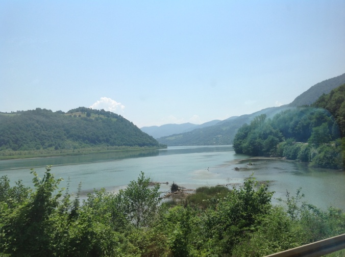 Another view if the River Drina