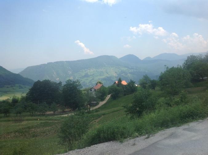 Bosnian mountain scenery