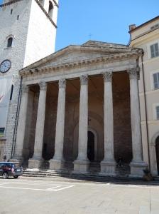 Church built around the Temple of Minerva