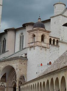A tiny portion of the Basilica Di San Francesco