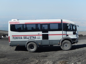 Transport vehicle Mount Etna
