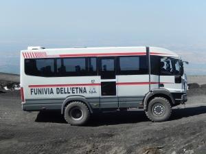 Transport vehicle Mount Etna