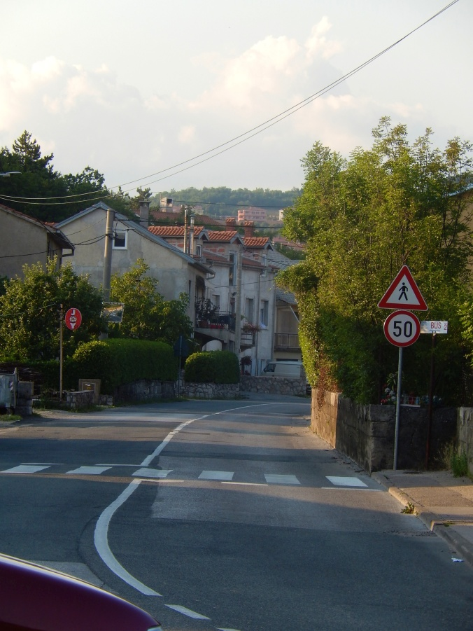 Looking for traces of the village street - Viskovo