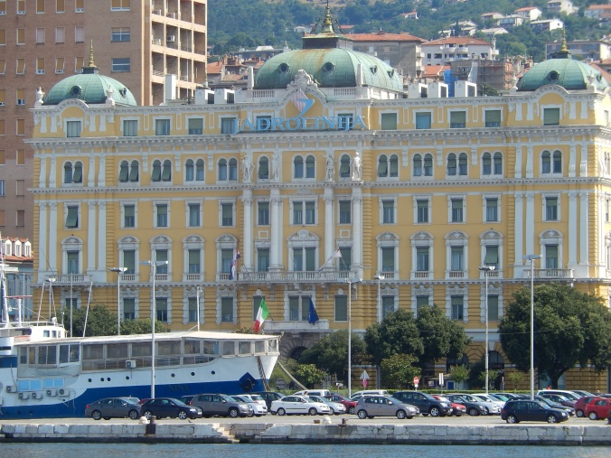 Rijeka is more elegant than my memory allowed