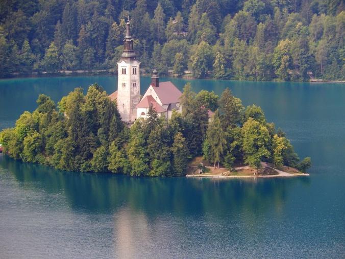 Lake Bled - Chocolate Box Scene