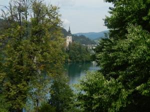 More chocolate box scenes at Lake Bled