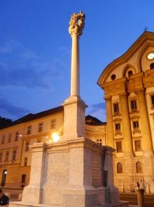 Another night scene in Ljubljana