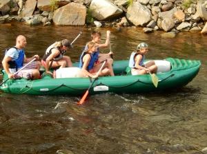 Rafting looks fun