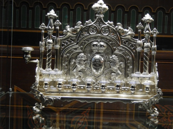 Jewish artefact in the Spanish synagogue