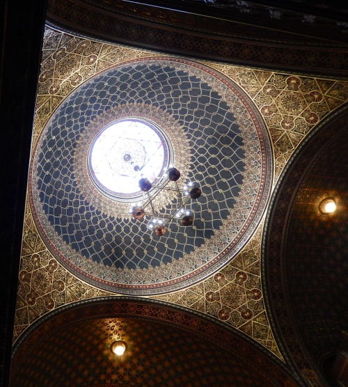 Central Dome inside the synagogue