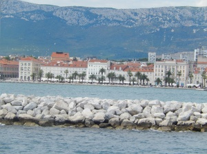 Entering Split Harbour