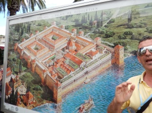 Mud map of Diocletian's Palace as it was