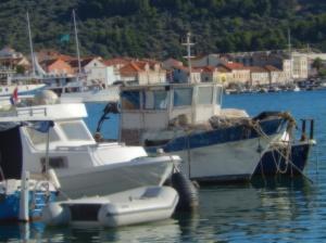 Harbour scene Vela Luka