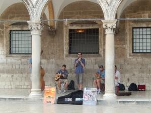 Street performers, Dubrovnik