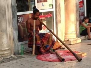 Culturally confused didgeridoo player