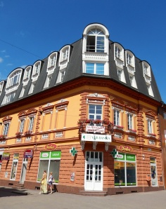 Here is another nice Poprad building