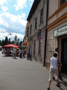 Street Scene, Poprad