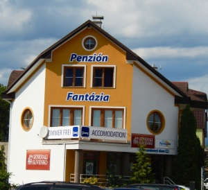 "This hotel was in Poprad.  We can only imagine what ""fantasies"" you could have there.  We laughed when we saw it, but the final laugh was on us when we got to Miskolc"