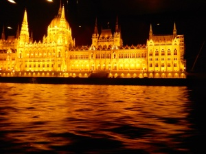 Budapest Parliament Building right hand side