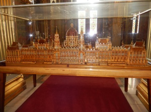 A Matchstick model of the Parliament Building