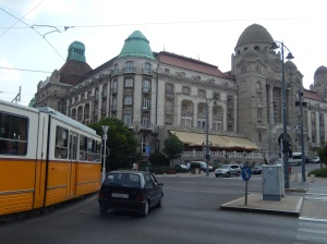 Approaching the Gellert Hotel
