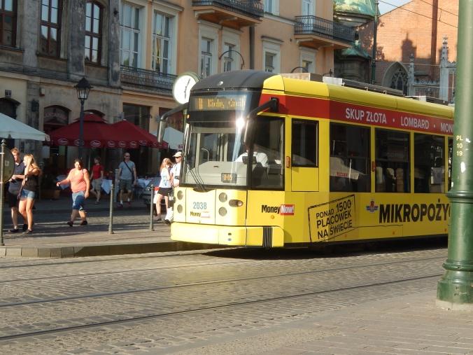 Street Tram Krakow
