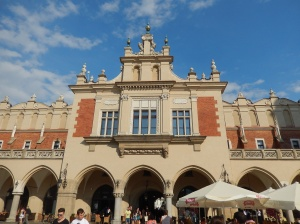 Cloth Hall Krakow, partial view