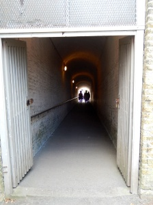 A tunnel entrance