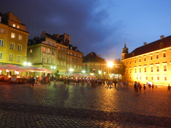 Another part of the old town by night 2013