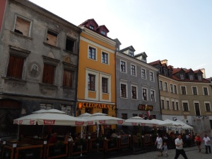 Old town street scene