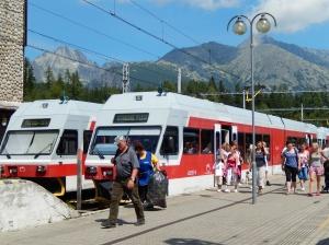 The electric railway