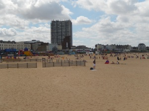 Proof that a sandy beach really does exist in England