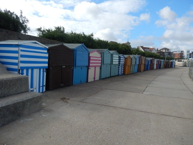 Time to retreat to the beach hut for a nice cup of tea