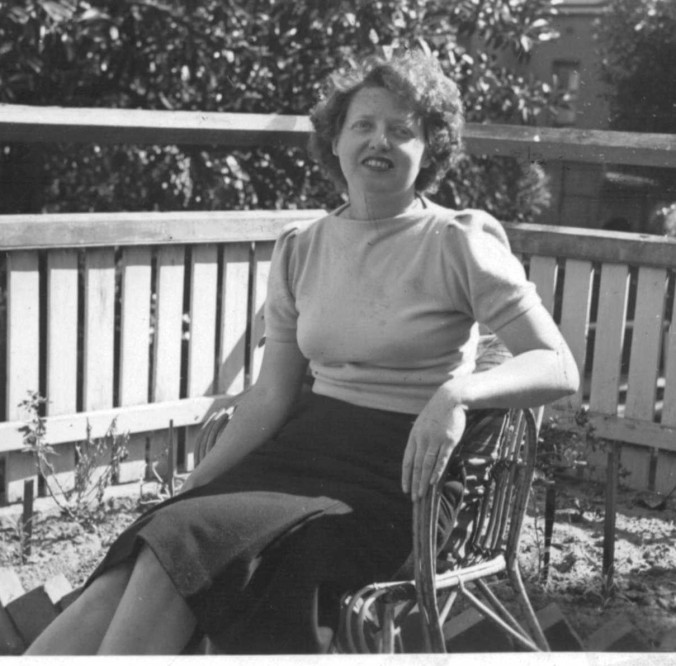 Aunty Myra, circa 1944, aged about 30