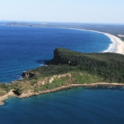 Crowdy Bay: Image Source Port Macquarie-Hastings Council