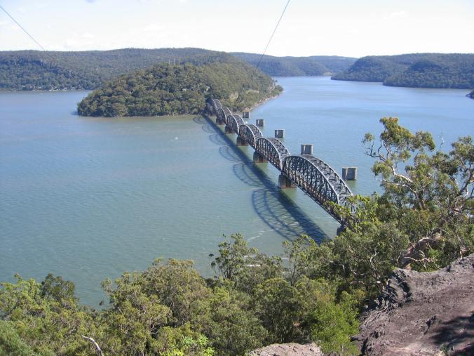 Hawkesbury River rail bridge  Source: Wikipedia  Author: Tim Stewart