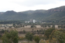 Overlooking Kandos Cement Works (1)