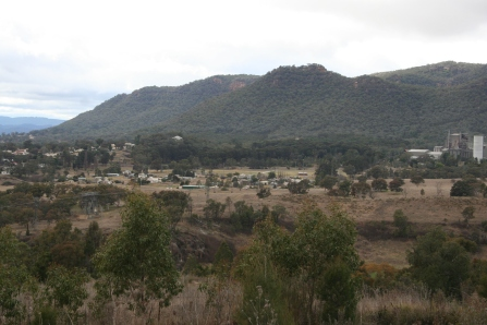 Overlooking Kandos Cement Works (2)