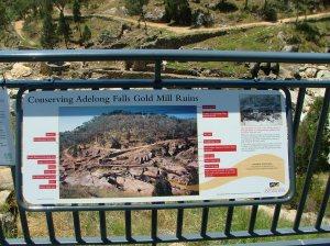 Adelong Falls Gold Mill Ruins Map 22Nov2010