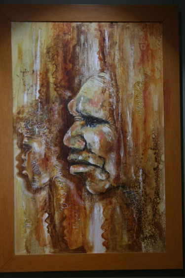 Aboriginal Portrait at Pilliga Discovery Centre