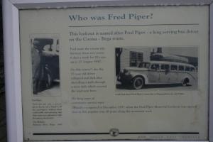 Fred Piper Memorial Plaque