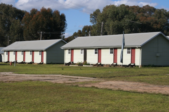 Migrant Huts at Bonegilla