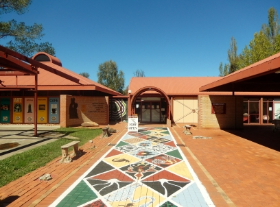 Entrance to Aboriginal Cultural Centre, Armidale