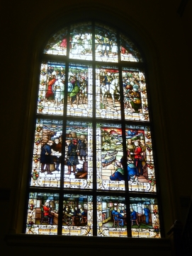 Booloominbah Armidale Staircase Window