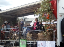 Country Theme Float at Armidale Street Parade March 2014