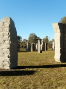 Glen Innes Standing Stones on St Patricks Day 2014 - Copy